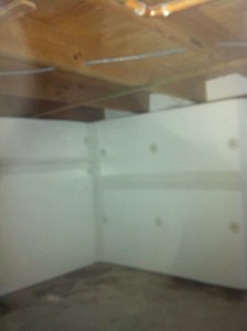 crawl space finished